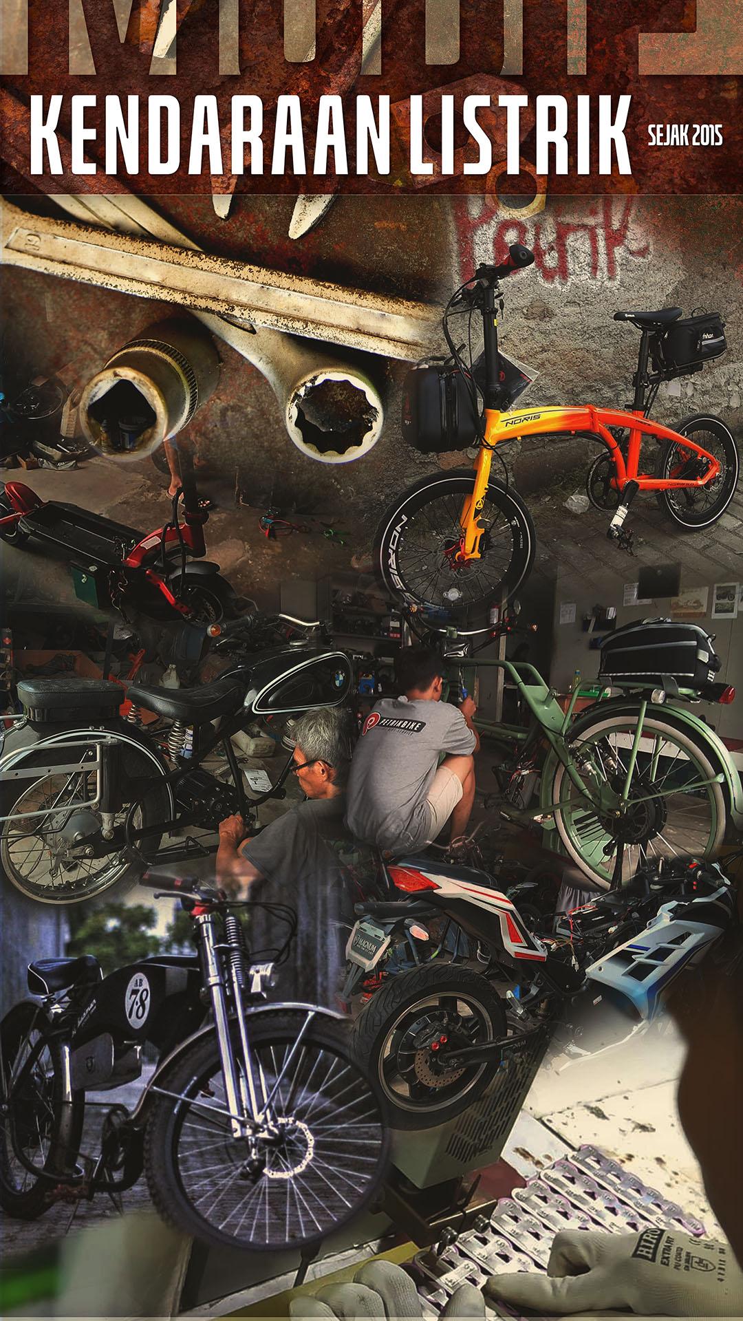 Petrikbike Service Scooter Sepeda Motor Listrik Jakarta Bogor Depok Bekasi